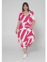 KEKOO 1238261 printed dress