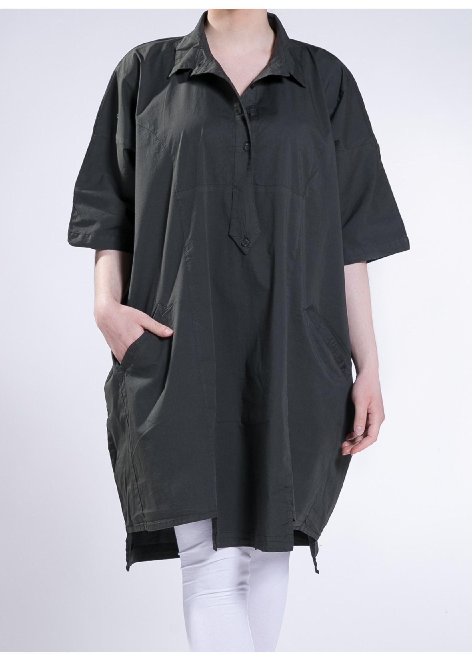 sh00310000 pat pockets cotton shirt