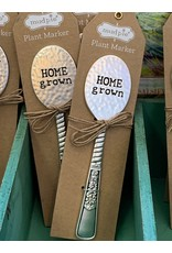 Mud Pie Hammered Spoon Markers