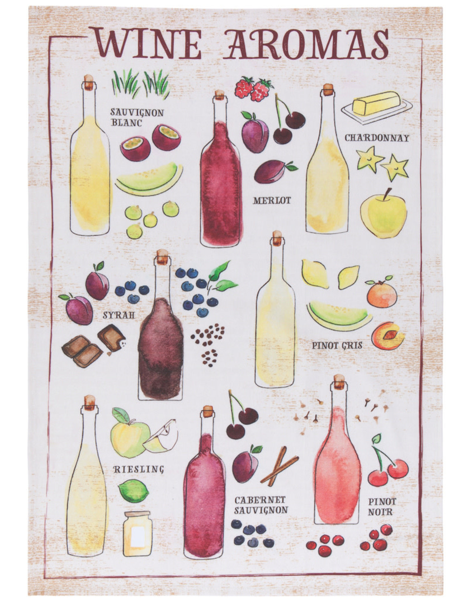 now designs Printed Dishtowel