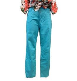 FDJ Olivia Mid Rise Slim Ankle Jeans
