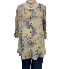Color Me Cotton Color Me Cotton Side Pocket Tunic