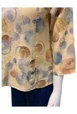 Color Me Cotton CMC Linen Print Top