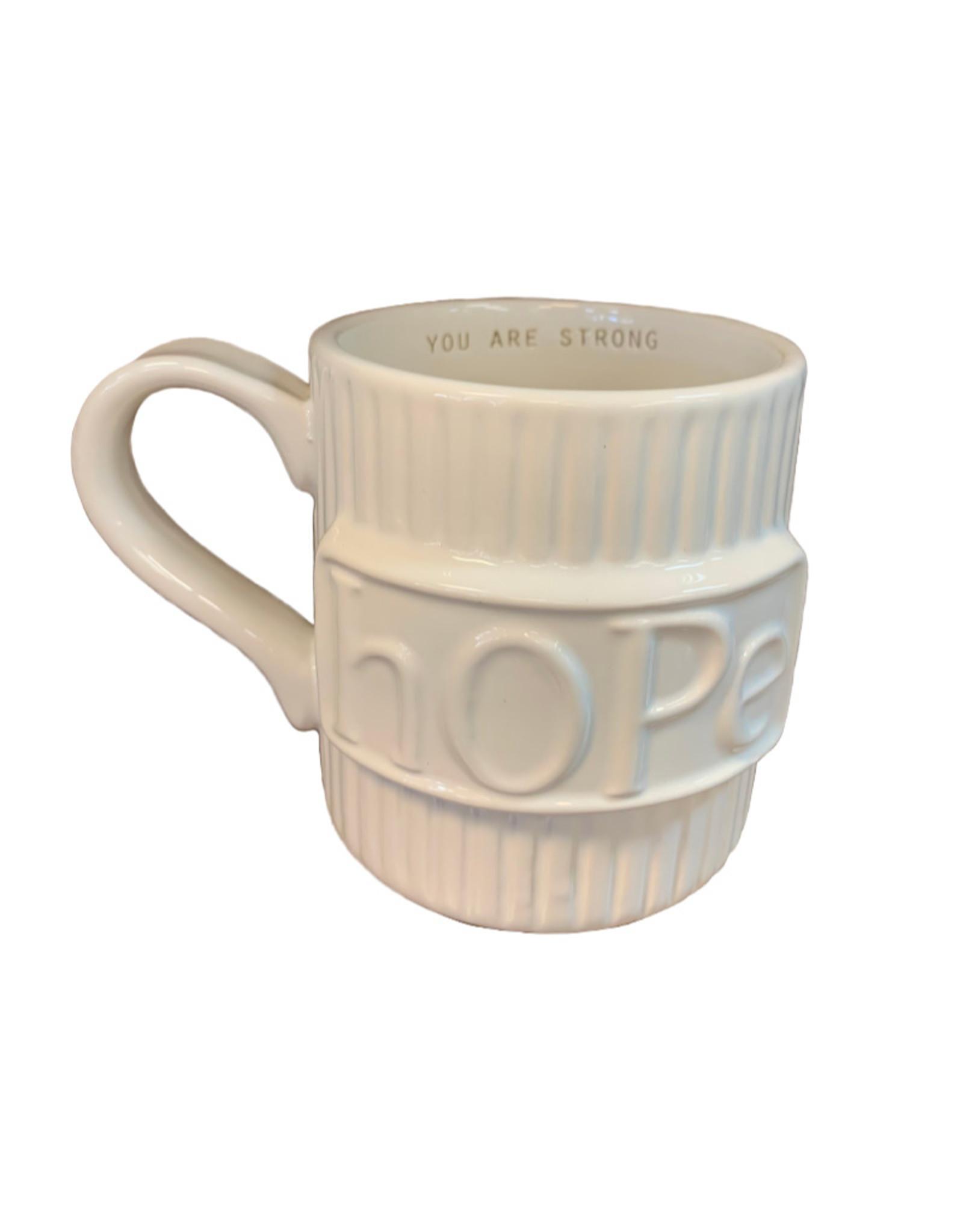 Mud Pie Paz-itive Mug Collection