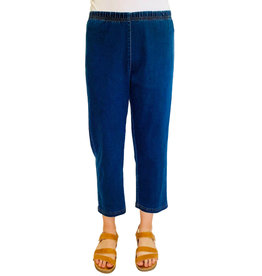 Color Me Cotton Color Me Cotton Stretch Denim Crop Pant