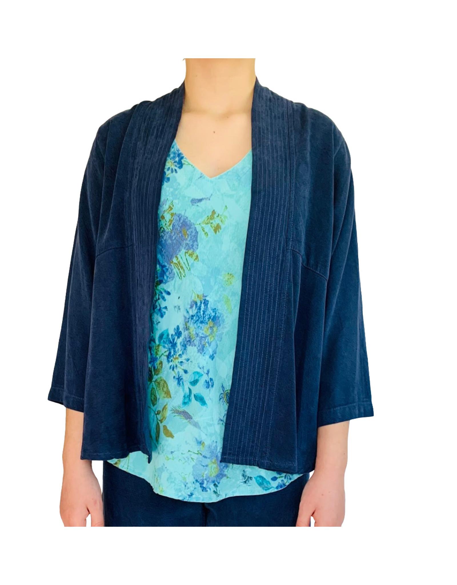 Color Me Cotton CMC Multi Stitched Band Tencel Jacket