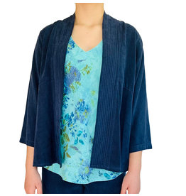 Color Me Cotton Color Me Cotton Multi Stitched Band Tencel Jacket
