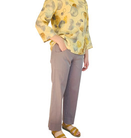 Color Me Cotton Color Me Cotton Stretch Sateen Ankle Pant
