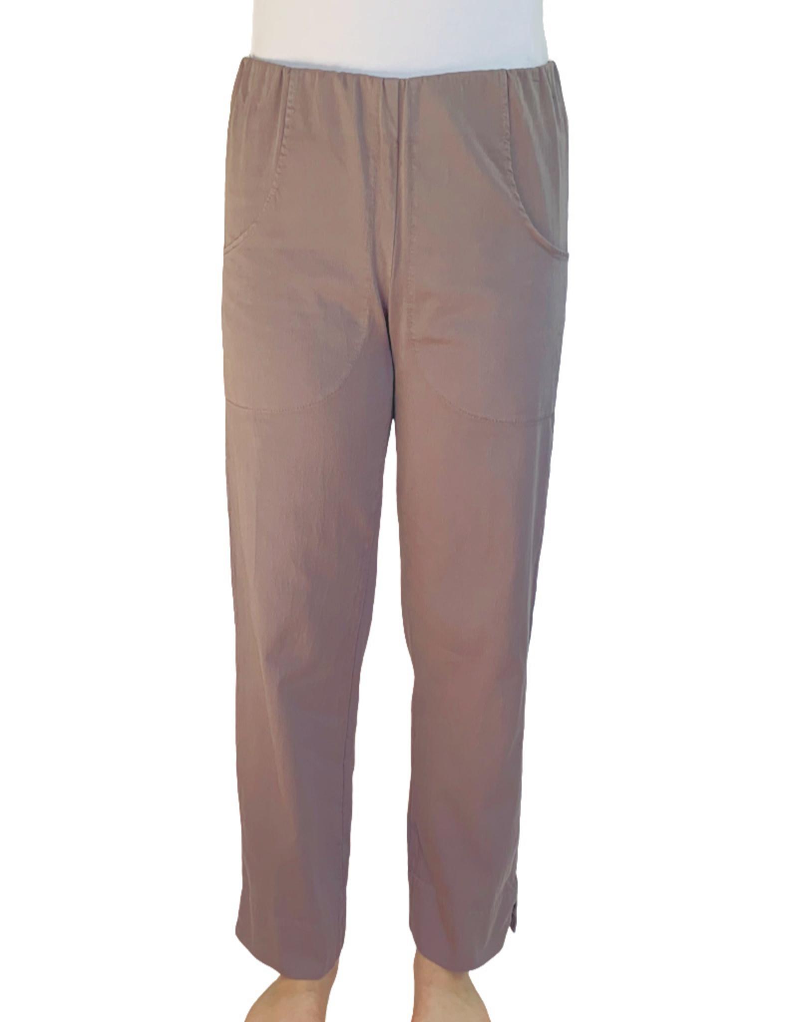 Color Me Cotton Color Me Cotton Stretch Sateen Ankle Pant