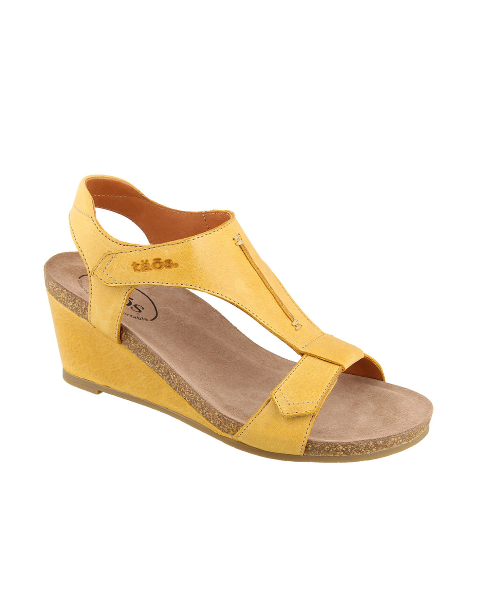 Taos Footwear Taos Sheila Leather Wedge Sandal