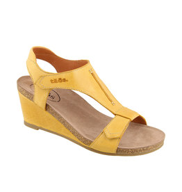 Taos Footwear Taos Sheila Leather Wedge Sandal