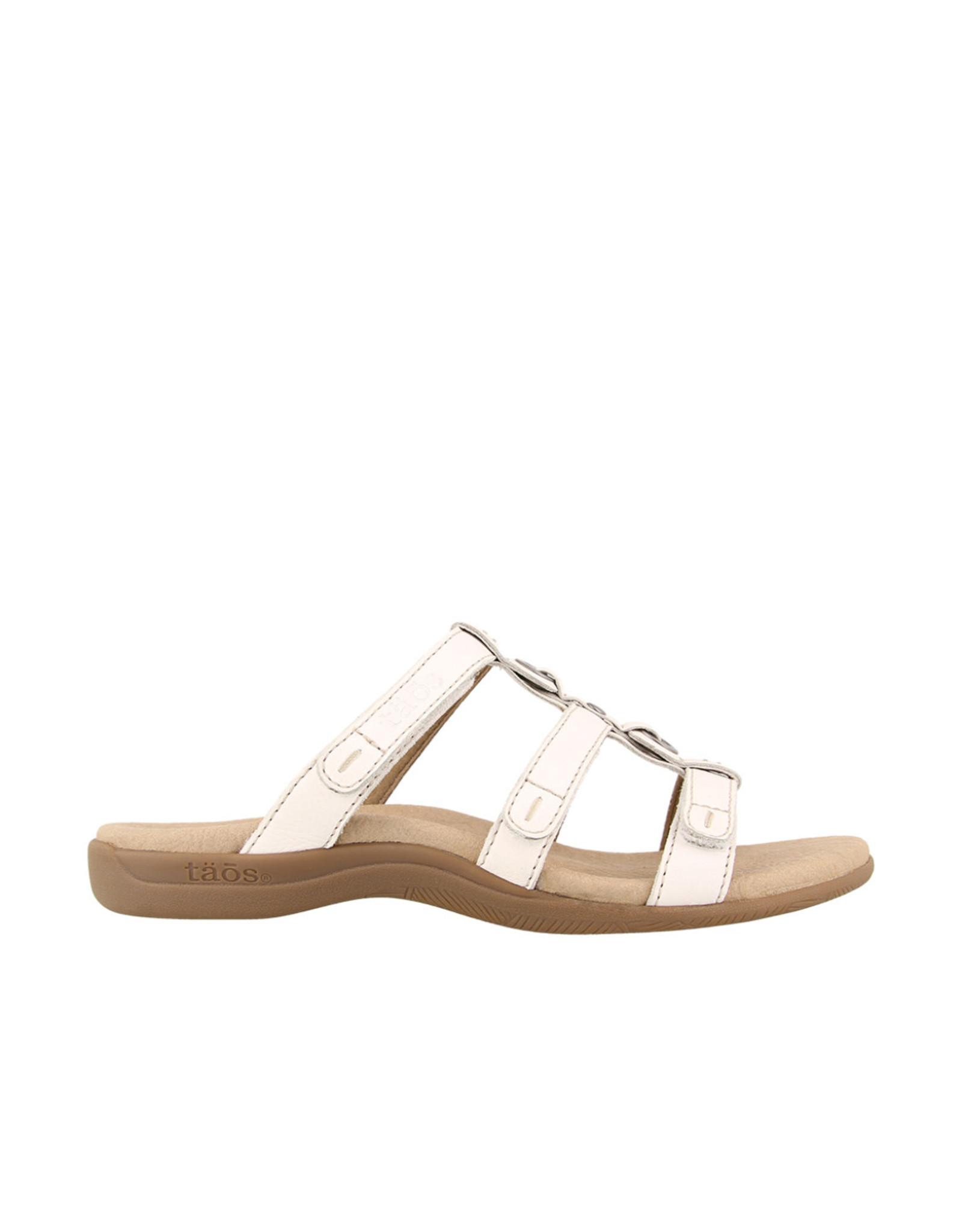 Taos Footwear Taos Nifty Leather Slip on Sandal