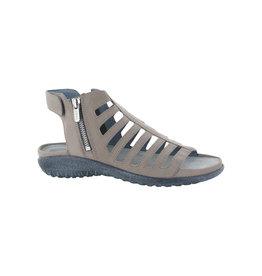 Naot Footwear Naot Pitau Nubuck Side Zip Sandal