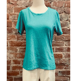 Cut Loose Short Sleeve Bias Top
