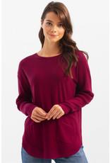 Charlie B Plushy Yarn Sweater with Pockets