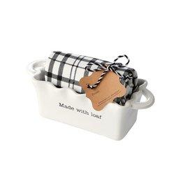 Mud Pie Made Circa Mini Loaf w/Towel