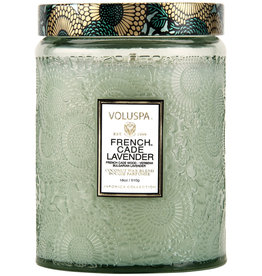 Voluspa Voluspa Large Glass Jar Candle