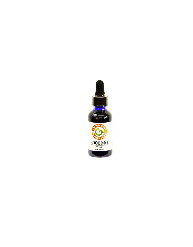 Good CBD 3000 MG CBD Oil Isolate Tincture