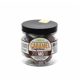 Good CBD Chocolate Covered Caramel with Sea Salt 200 MG