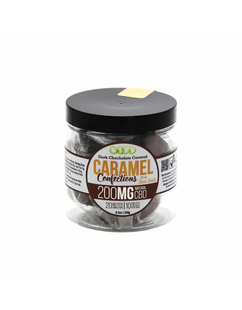 Good CBD Chocolate Covered Caramel 200 MG