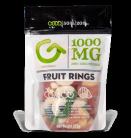 Good CBD Mega Gummy Packs Fruit Rings