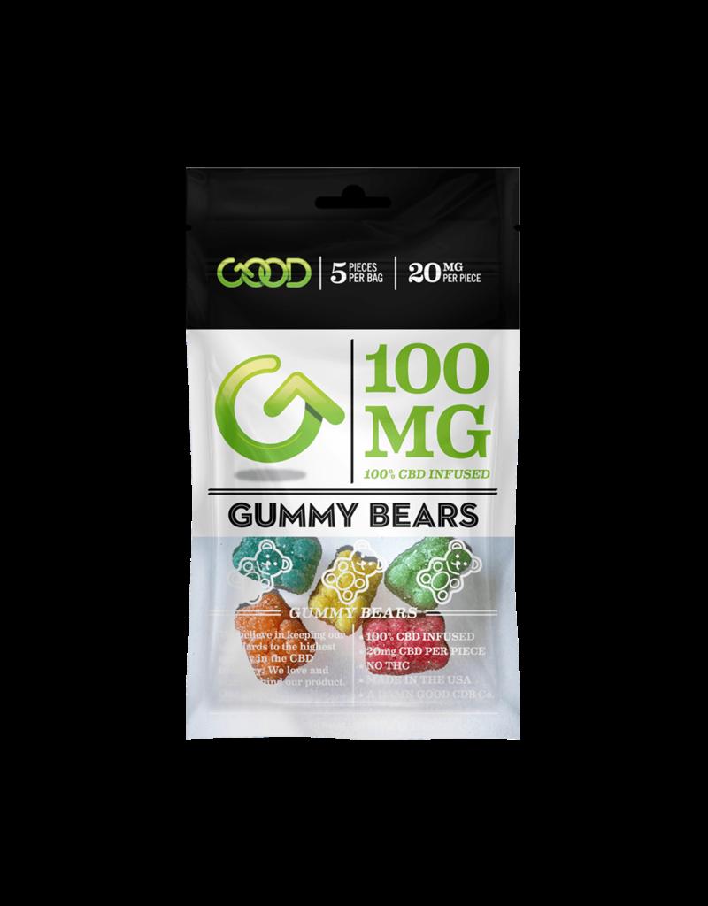 Good CBD Gummy Bears 100 MG