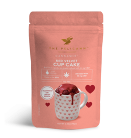Pelicann Pelicann CBD Infused Red Velvet Cup Cake Mix
