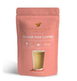 Pelicann Pelicann Sugar Free CBD Infused Coffee Mix
