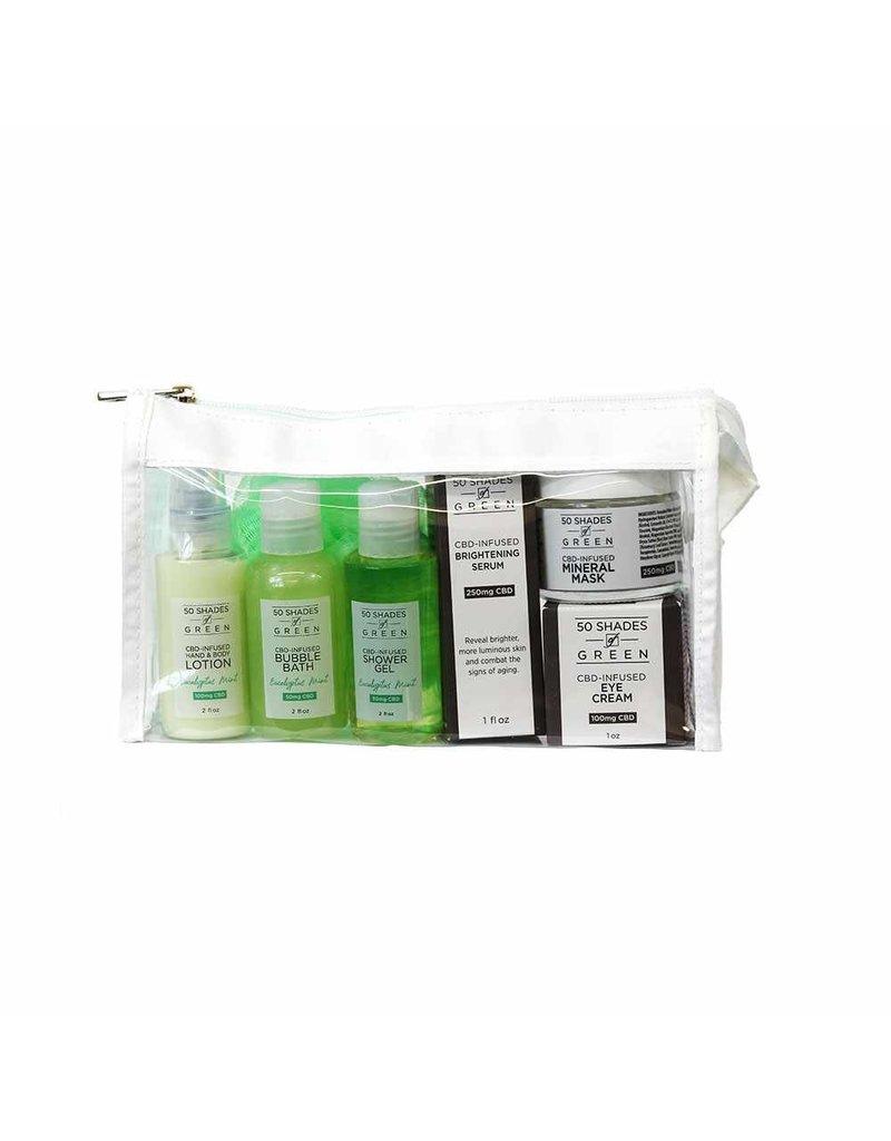 50 Shades of Green Spa Bag