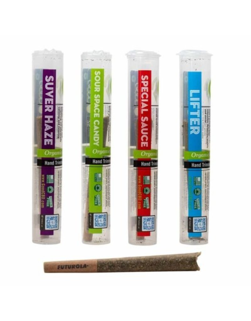 Good CBD Pre Roll Flower Sour Space Candy