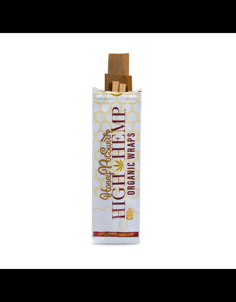 High Hemp Wraps Honey Pot Swirl