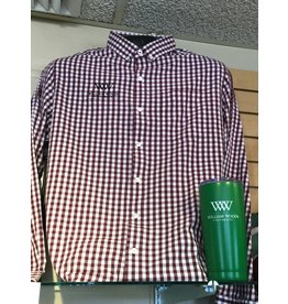 Men's Wilson Gingham Long Sleeve Button Up