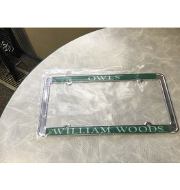 License Frame WWU Owls