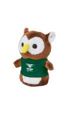 """4"""" Shorties Plush Owl w/T-Shirt"""