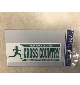 Decal  Cross Country