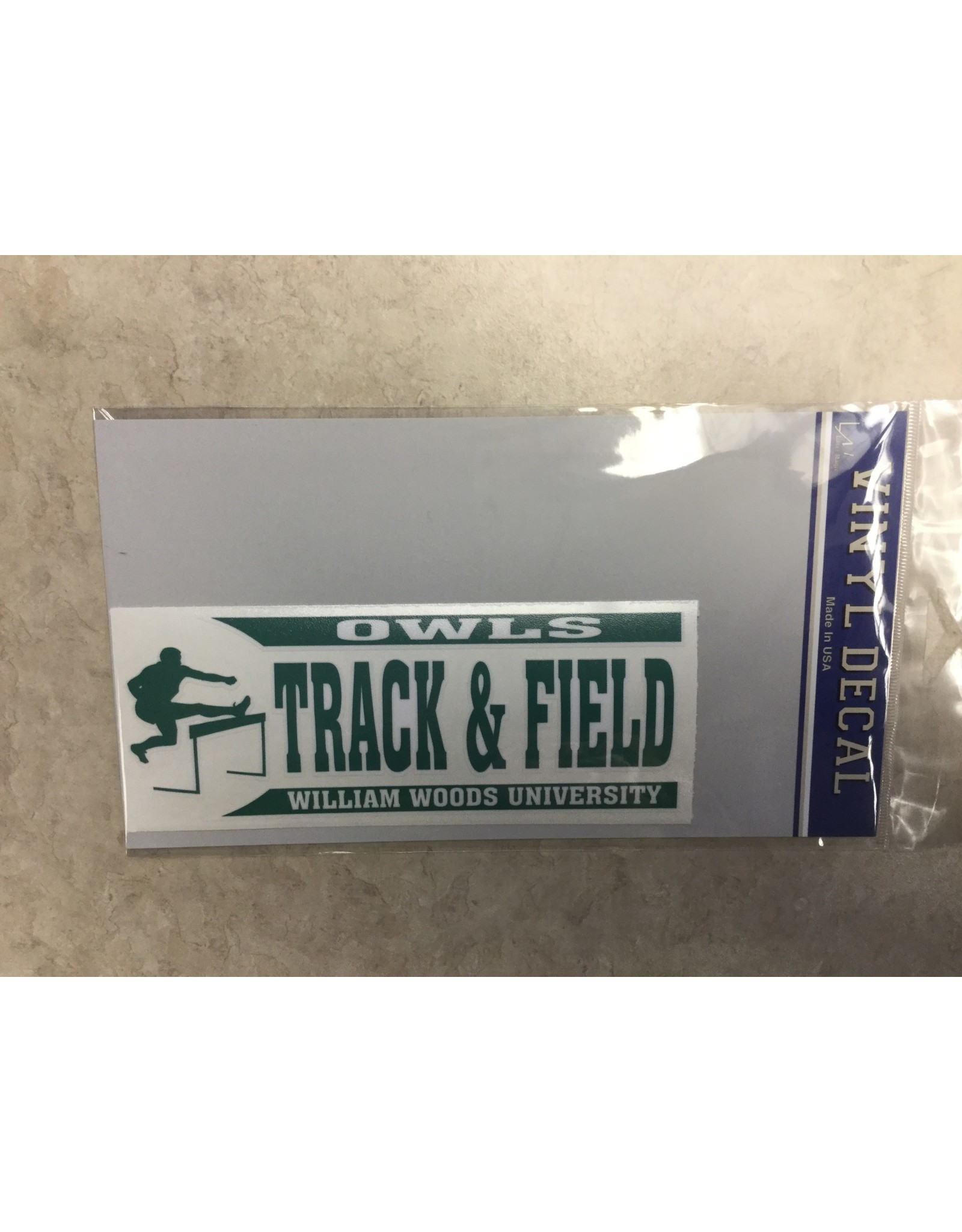 Decal  Track and Field