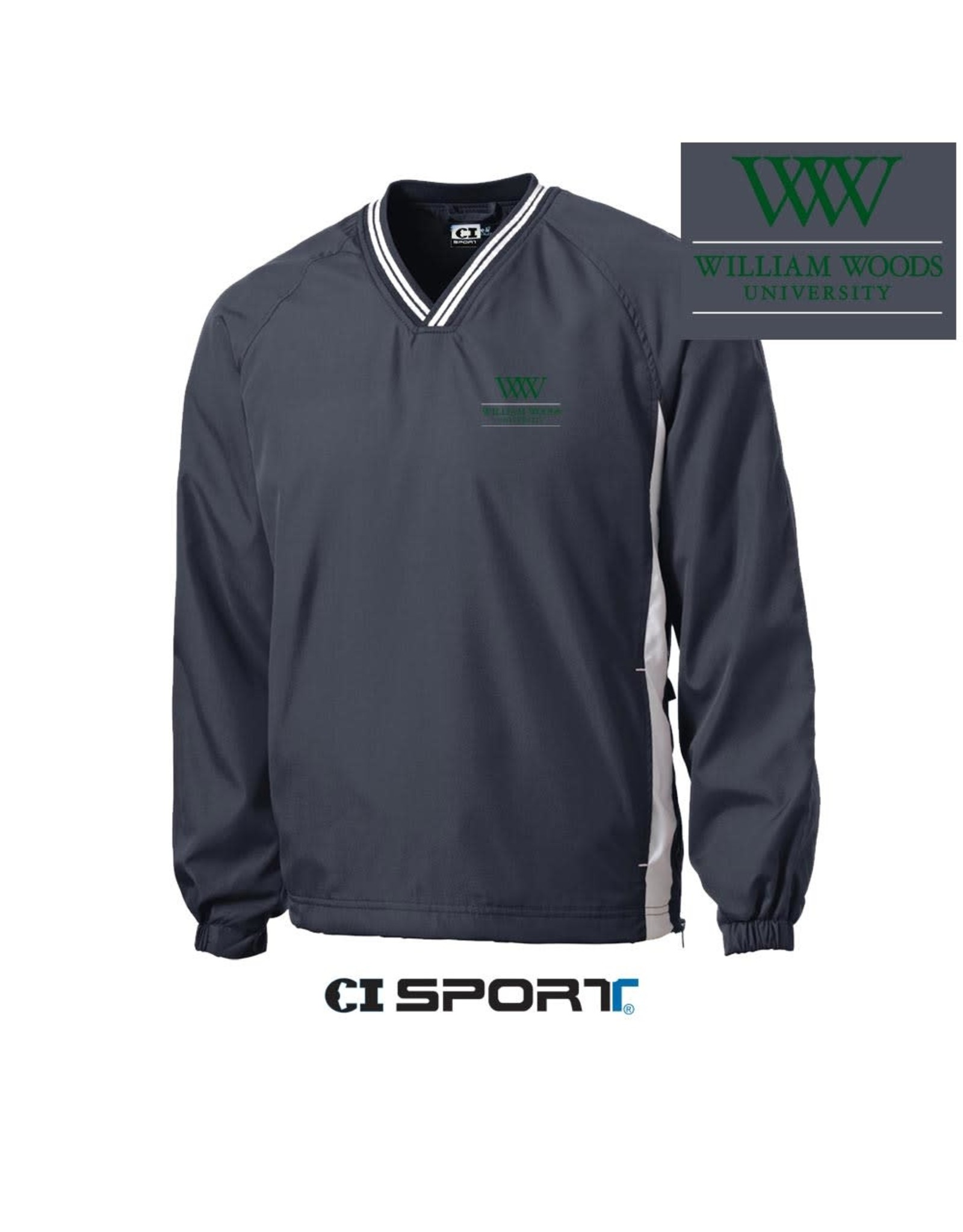V-Neck Windshirt