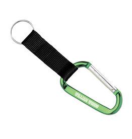 Carabiner w/Key Ring