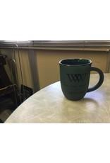 Alumni Kettle Mug Green w/Black Logo