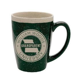 Grandparent Green Speckled Mug
