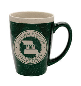 MOM Green Speckled Mug