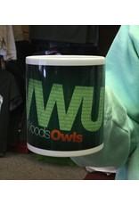 Nordic 11 oz. White WWU Sublimated Mug