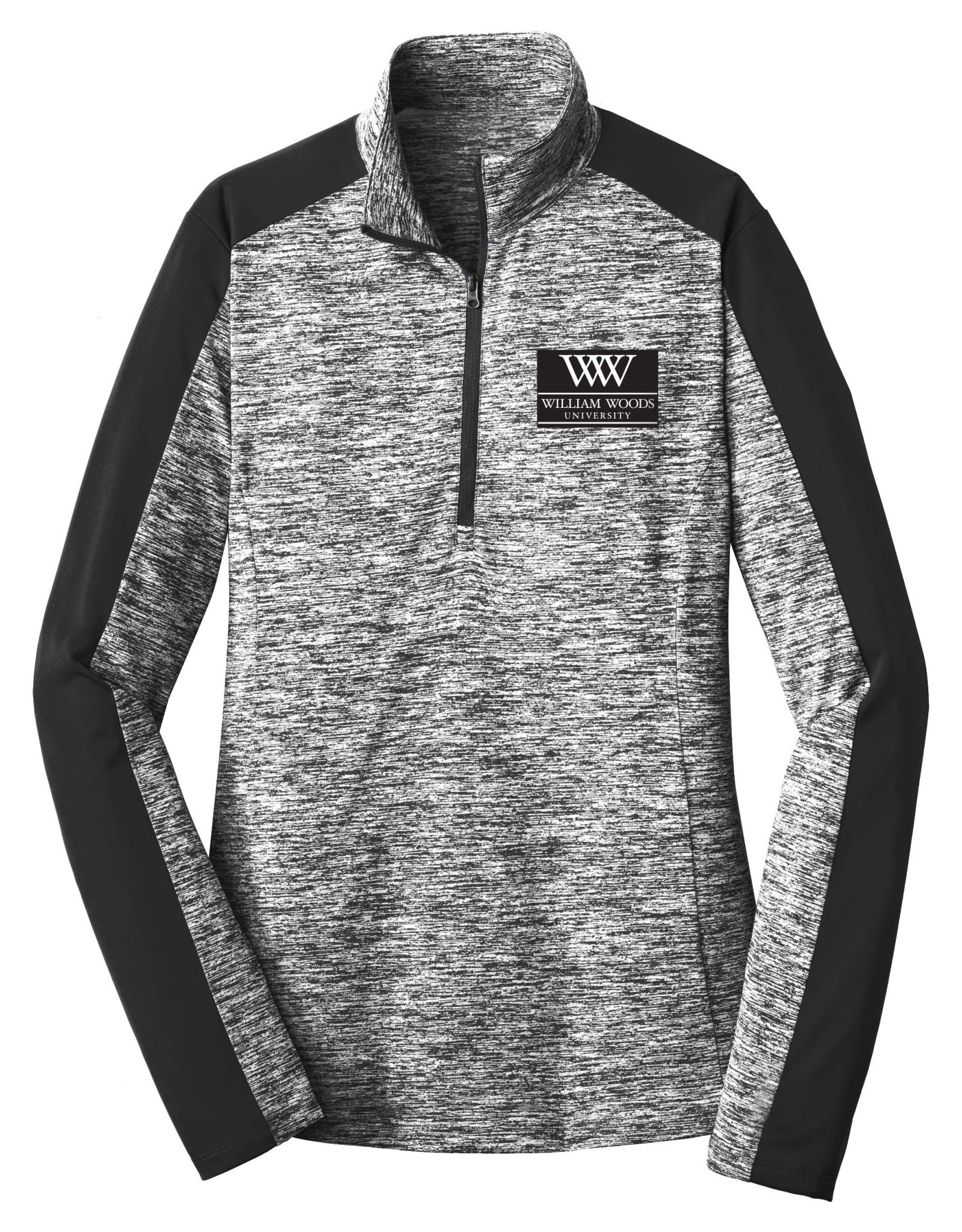 Ladies 1/4 Zip w/Embroidered Logo