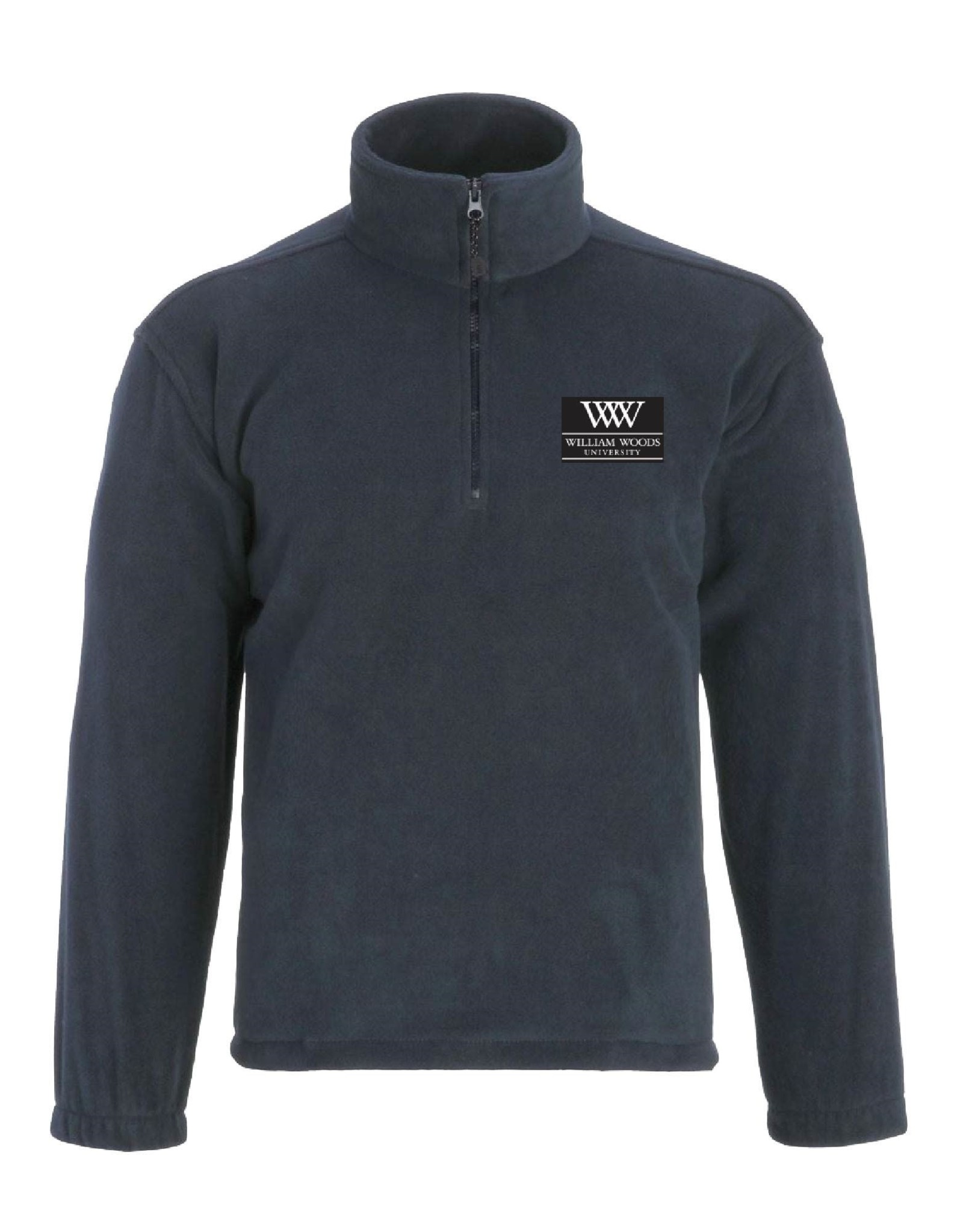 Unisex 1/4 Zip Fleece Pullover