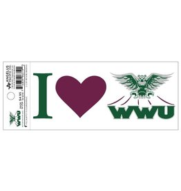 Decal I (Heart) WWU