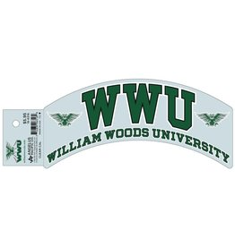 Decal Arched WWU William Woods University
