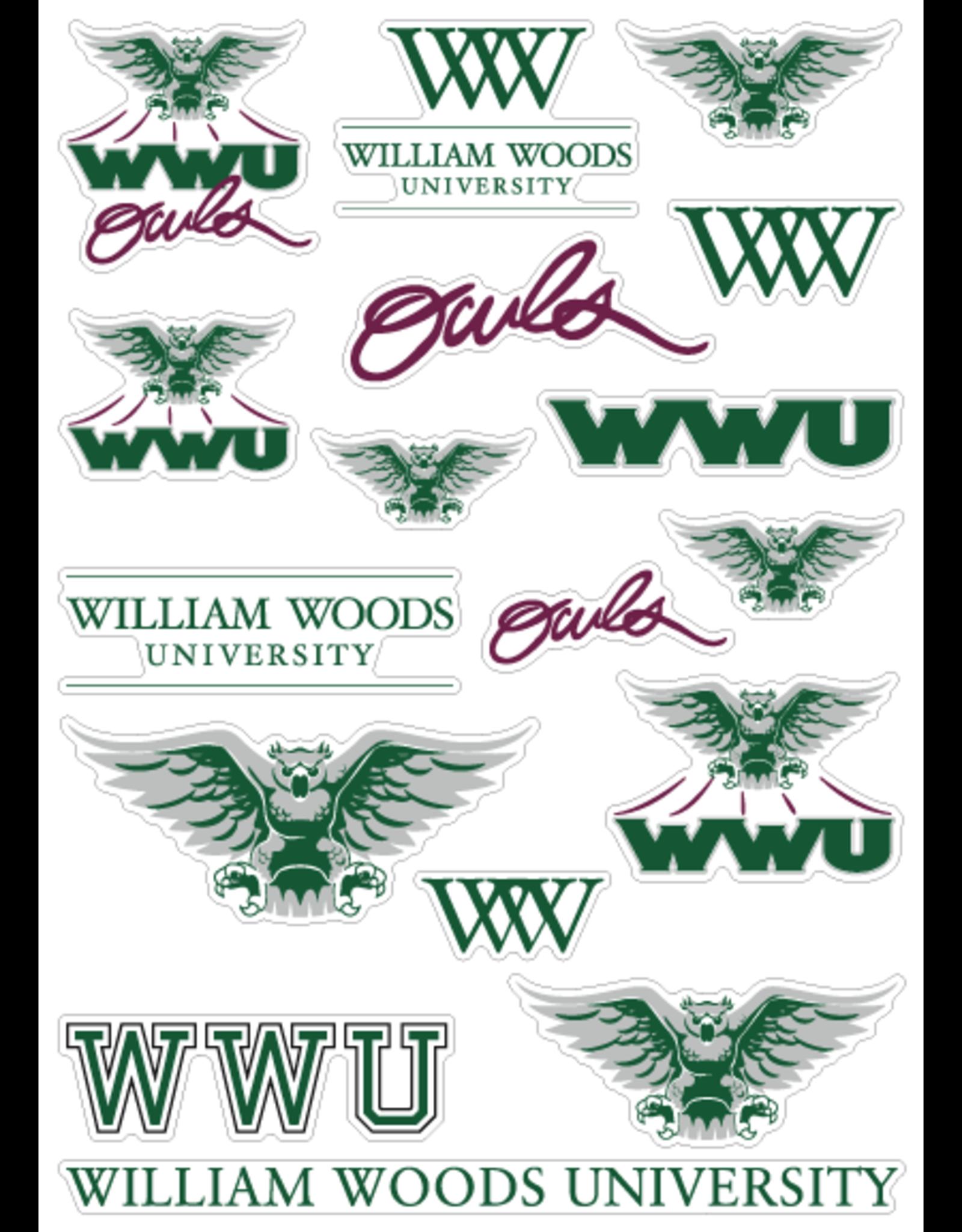 Decal WW Craft Sticker Sheet