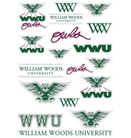 Decal WW Craft Sticker Sheet
