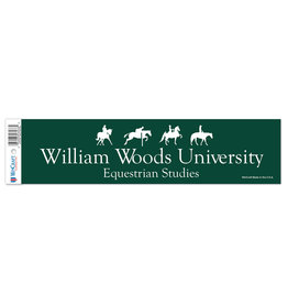 Decal Equestrian All Green with Horse and Rider