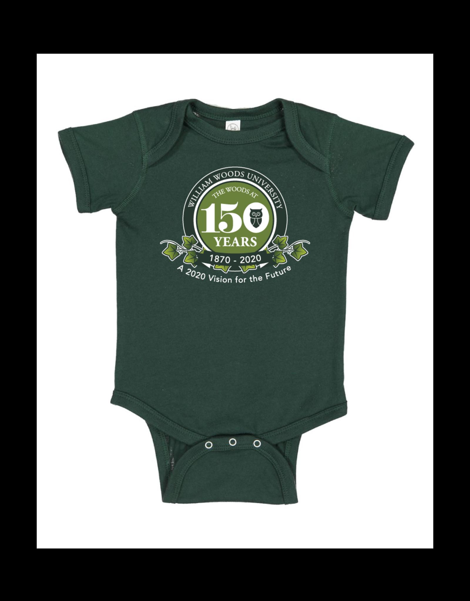 150th Anniv. Infant Onesie Forest